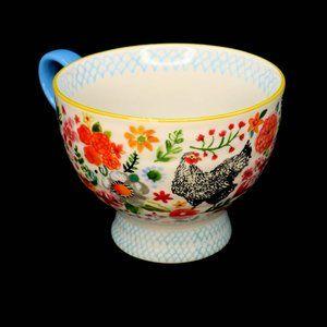 Jennifer Orkin Lewis Anthropologie Wing Petal Mug